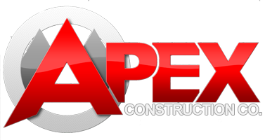 Apex Construction Company Iowa City logo